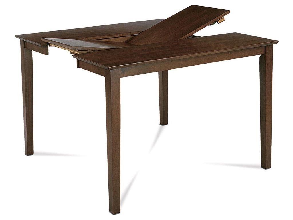 Jídelní stůl moření ořech rozkl. 136 45x91x75 cm
