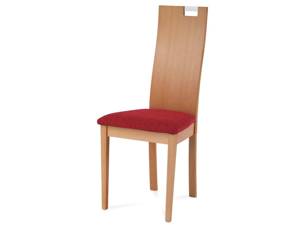Jídelní židle BEZ SEDÁKU, masiv buk, moření tmavý buk