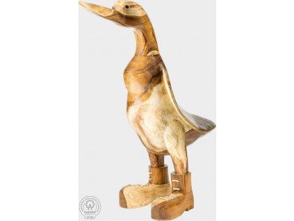 Zahradní dřevěná dekorace husa Renata
