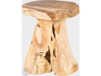 Originální dřevěná stolička Tatyana
