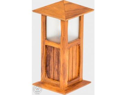 Dřevěná zahradní lampa Déborah