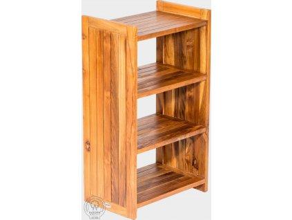 Regál z teakového dřeva