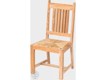 Masivní teaková židle do interiéru i exteriéru Margarita