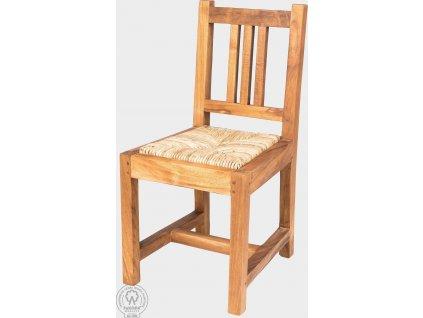 Stabilní dětská dřevěná židlička Mara