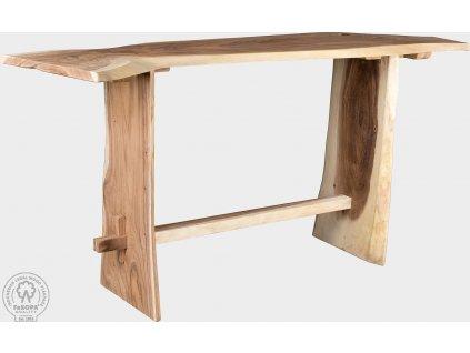 TRUNK BAR X - dřevěný bar 227x60x110cm