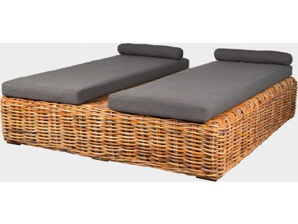 BOREA - ratanová postel Zoe