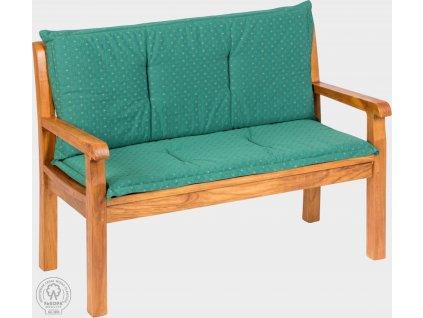 KARLAS Pietro 120 - polstr na lavici zelený Jodie
