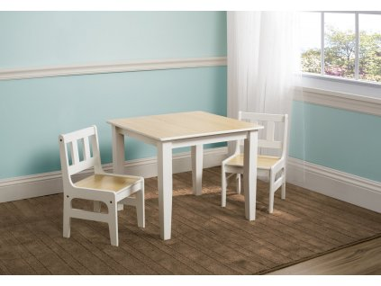 Dětský stůl s židlemi Natural