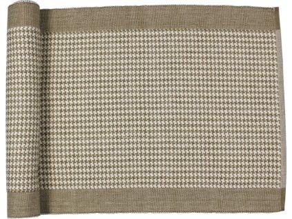 Runner bavlna okr-bílá z kolekce Cornovaglia
