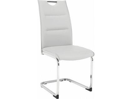 Jídelní židle, světlešedá, TOSENA