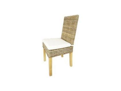 Ratanová židle SEATTLE, konstrukce borovice Z006S-NEW