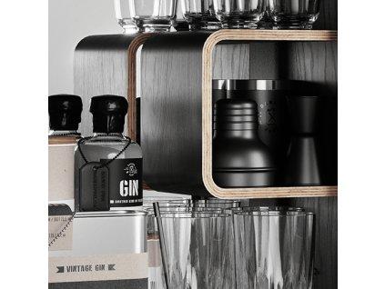 Koupelnová skříňka / kanistr - Bathroom Cabinet, Rose, 6 variant - Danish Fuel Varianta: Smoked Oak