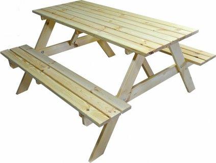 set PIKNIK - 160 cm - přírodní