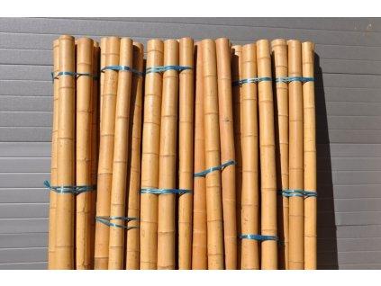 Dekorace bambusové tyče silné