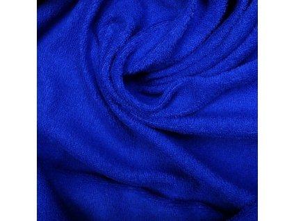 Froté prostěradlo 200x90 cm - modré