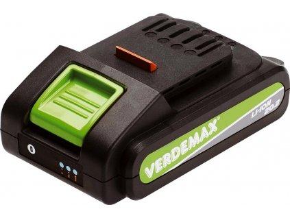 VERDEMAX LI-ION Baterie 20V-2Ah