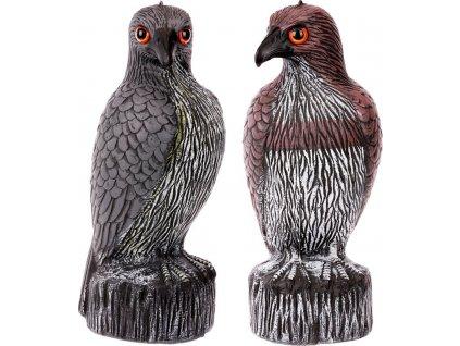 Plašič ptáků - orel, plastová zahradní dekorace, dva druhy