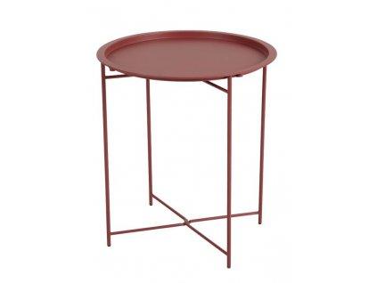 Príručný stolík SANGRO - Červená