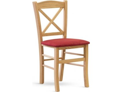 Židle CLAYTON dub látka