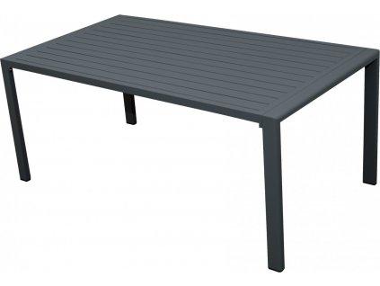 MORISS - zahradní hliníkový stůl 130 x 72 x 70 cm