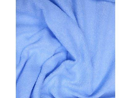 Froté prostěradlo 120x60 cm - světle modré