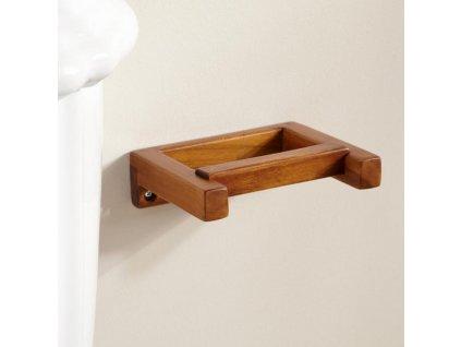 Dřevěný držák LUX - držák na papír
