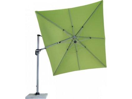 ACTIVE 350  x 260 cm – výkyvný zahradní slunečník s boční tyčí