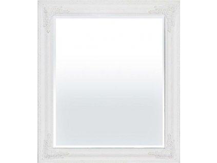 Bílé zrcadlo s patinou 93964