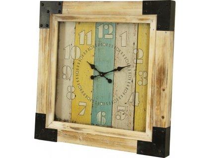 Dřevěné hodiny 101181