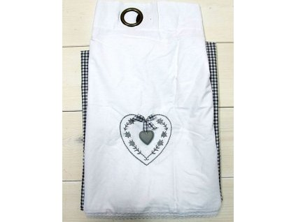 140x250 CM Dekorační textilní závěs AS0026