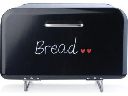 Černý chlebník na nožičkách HTBC4178