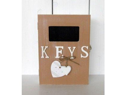 Dřevěná krabička keys EW0087