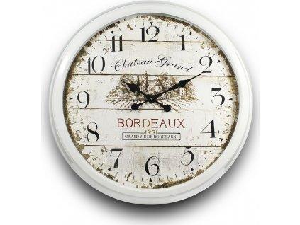 Bílé hodiny s vinicí 80544