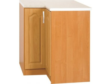 Kuchyňská skříňka, olše, levá, LORA MDF NEW KLASIK S90 / 90