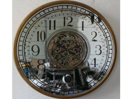 Luxusní hodiny s ozubenými kolečky 121702