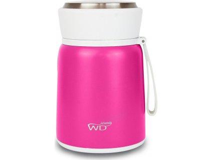 Obědový termobox / termoska, růžový - WD Lifestyle