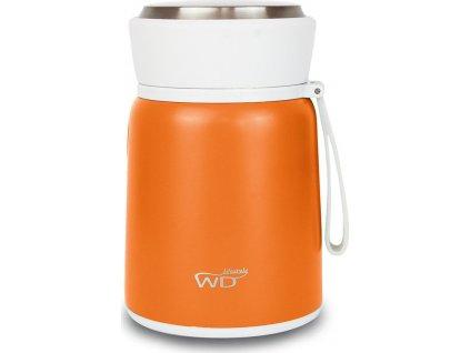 Obědový termobox / termoska, oranžový - WD Lifestyle