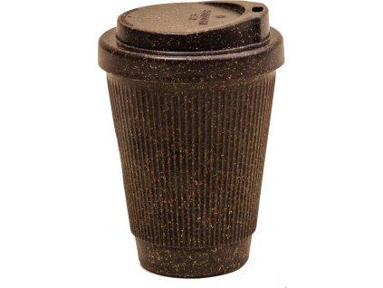 Cestovní hrnek na kávu s víčkem z recyklované kávy - Kaffeeform