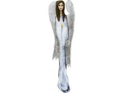 Dřevěný obraz anděl 118415