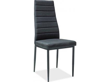 Jídelní čalouněná židle H-265 černá