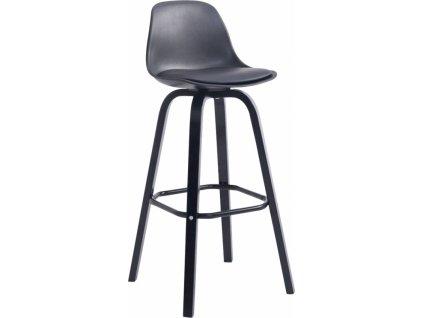 Barová židle Tylen, černá