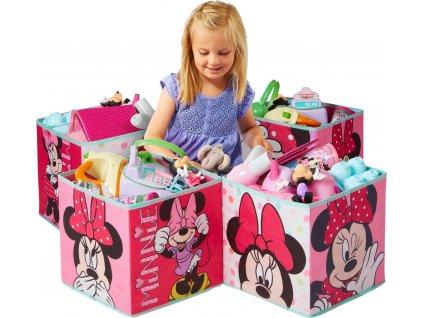 Dětské úložné boxy Minnie