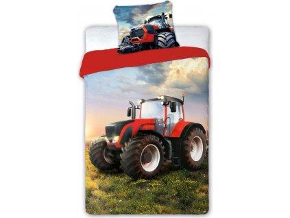 Dětské povlečení Traktor 140x200 cm