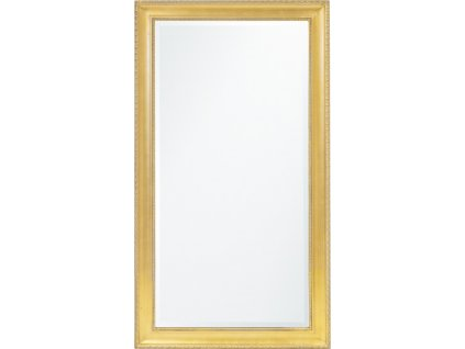 Dřevěné zrcadlo zlaté 115877