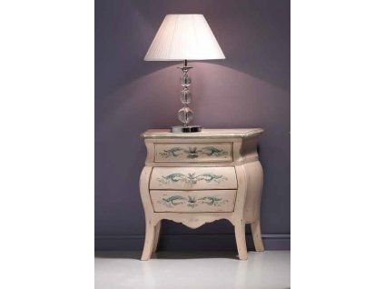 Luxusní ručně malovaný noční stolek