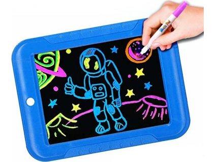 Magická kreslící tabulka - modrá