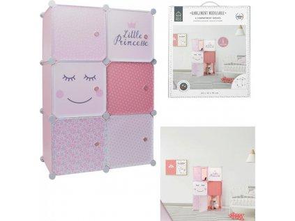 Dětská modulární skříň Little Princess