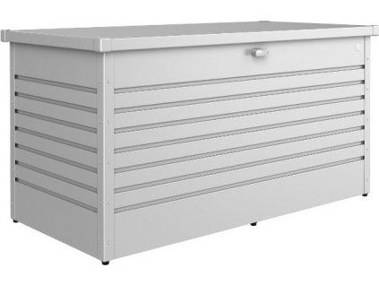 Úložný box HOBBY BOX 130 - strieborná metalická