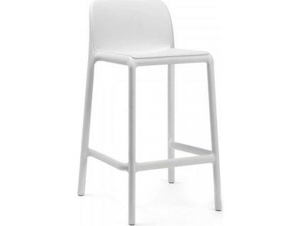 Barová stolička FARO MINI - Biela