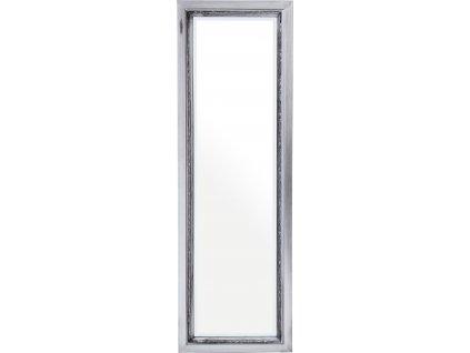 Dřevěné stříbrné zrcadlo 122313